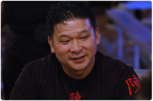 John Chan in 2006 World Series of Poker at Rio Las Vegas. Photo by flipchip / LasVegasVegas.com